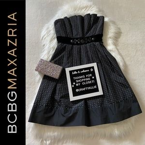 BCBGMaxAzria Strapless LBD || Women's 2
